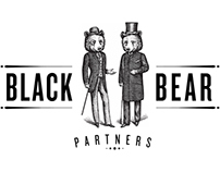Black Bear Partners Logo Illustrated by Steven Noble