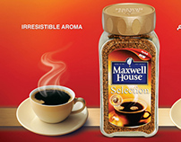 Maxwell House launch