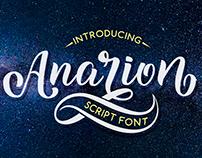 Anarion Script Font