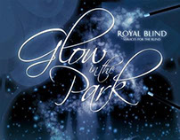Royal Blind Glow in the Park Flyer