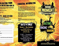 Round Midnight Summer School 2012 Leaflet 6PPDL