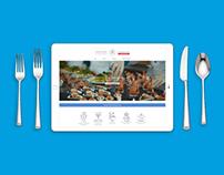 Catering company / web design