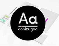 Conizugna Typeface