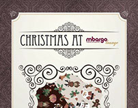 mbargo Lounge Christmas Poster