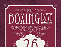 mbargo Boxing Day Poster