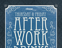 mbargo After Work Drinks Poster