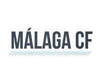 Málaga CF - Lettering