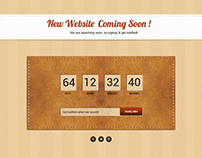 2 Coming Soon Pages - Freebie - PSD