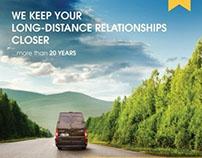 Slovak Parcel Service - Print Ad