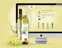 Website for Wine Brand Vitis