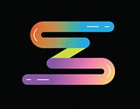 concept logo - colour zone printing services