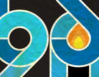 Buck 65 logo proposal - 20th anniversary
