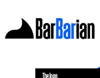 BARBERSHOP Barbarian   Branding for composed barbershop