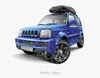 Vector Suzuki Jimni
