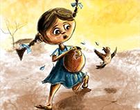World water day 2018 - Illustration