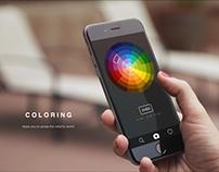 ColoRing - UI / UX / IoT
