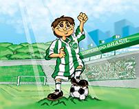 Desenhos sobre Esporte Clube Juventude