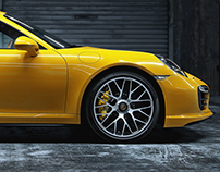 Porsche 911 Turbo S – Full CGI