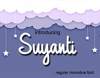 Suyanti Monoline Font