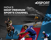 DSport | Discovery Channel | Emailer