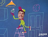 Lightbulb animation eCard for JibJab