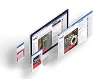 WDR2 Social Media Redesign