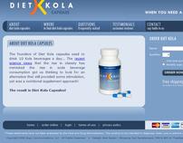 Diet Kola Website