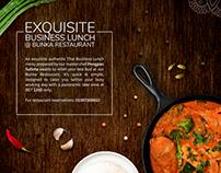Restaurant Food Promo Ad