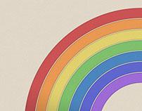 Letterpress Rainbow