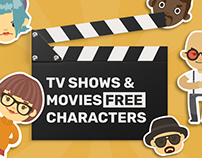 TV Shows & Movies Free characters