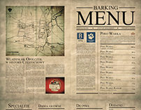 Barking Menu Design