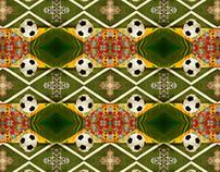 Muamba - World Cup 2010 Pattern Design