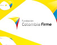 Fundación Colombia Firme Identity