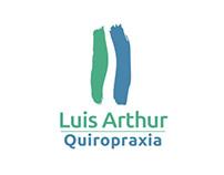 Identidade Visual - Luis Arthur Quiropraxia