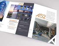trifold brochure A52