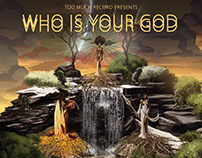 Album Art Cover (WHO IS YOUR GOD)