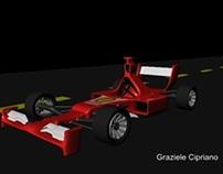 Projeto Ferrari em Maya 3D