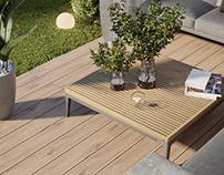 LV2 House - Backyard Porch