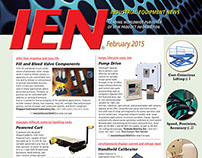 IEN February 2015 cover