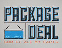 Package Deal Blog Logo and Customization