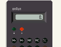 Braun ET 66 Calculator