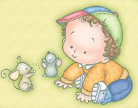 Ilustraciones Bebés