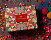 Holi Box Design - Omay Foods