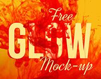 Free Glow Mock-up