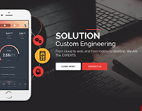Custom Engineering Solutions | Web Page Design