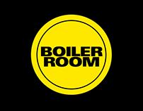 Boiler Room - App Design Concept