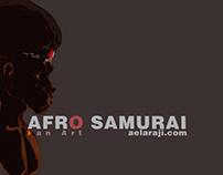 aELARAJI | Afro Samurai [fan art]