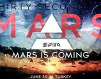 30 Seconds To Mars 2013 Tour
