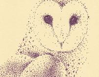 PIXELS. -Animal Card Series #010