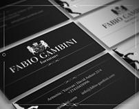 Fabio Gambini brand Identity